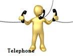 1050842-Royalty-Free-RF-Clip-Art-Illustration-Of-A-3d-Gold-Man-Handling-Multiple-Phones